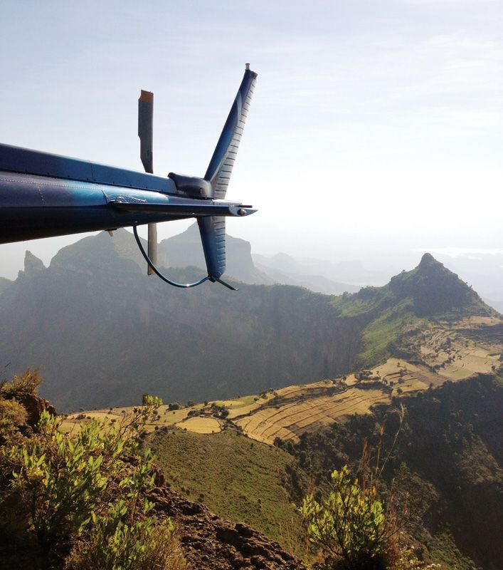 Simien Mountains - Ethiopia - Journeys by Design - helicopter sfari in East Africa