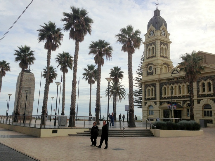 Glenelg, South Australia • Mosely square • Adelaide's beaches