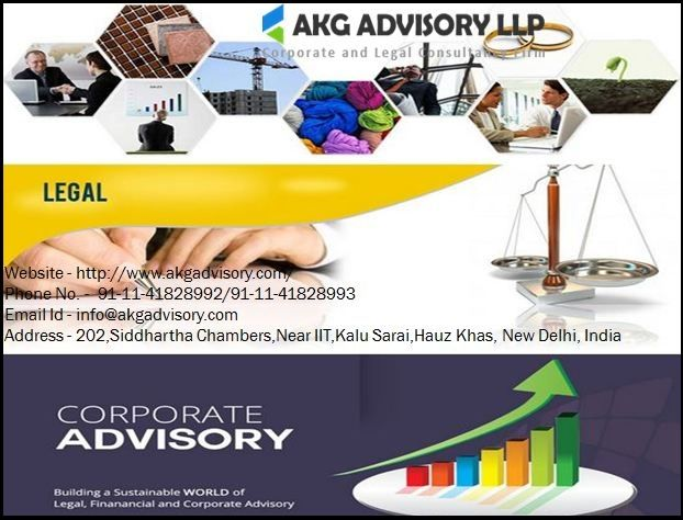 At AKG Advisory LLP, is a business law firm, provides corporate business law, business corporation law, business and corporate law, corporate governance in India and so on at the great price.