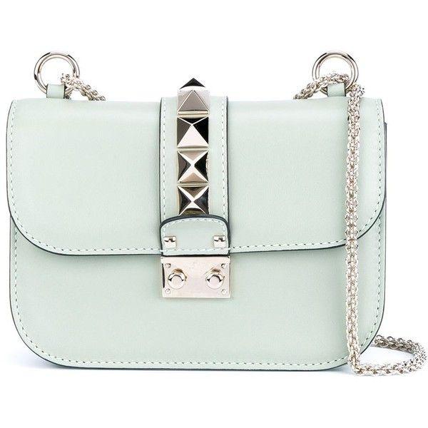 Valentino Garavani small \u0026#39;Glam Lock\u0026#39; shoulder bag ($2,035 ...