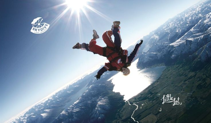 Little Lot | Strap yourself to a beautiful stranger... from Skydive Lake Wanaka