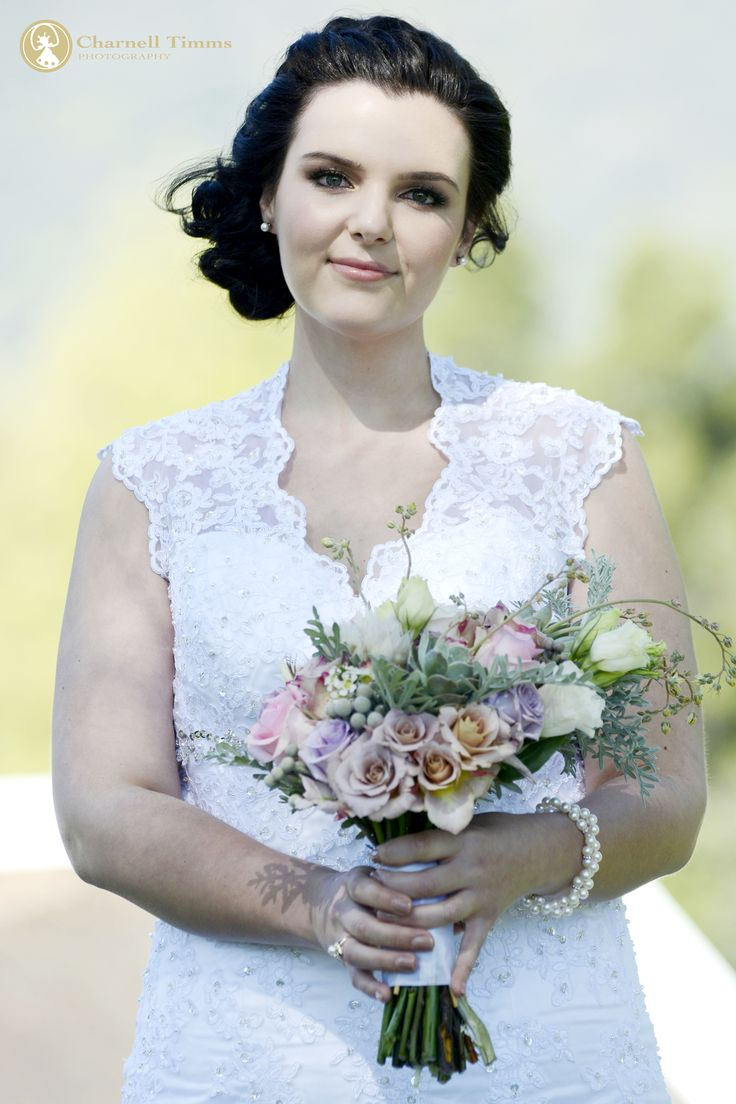 Natalie's pastel bridal bouquet. Charnell Timms Photography