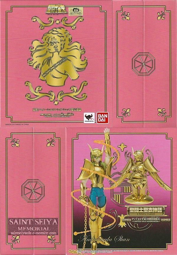 Andromede gold box 2