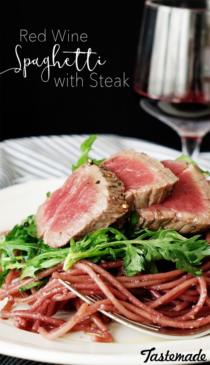 Blue apron bayonne - Infusing Your Spaghetti And Steak With Red Wine Will Make You Feel So Fine