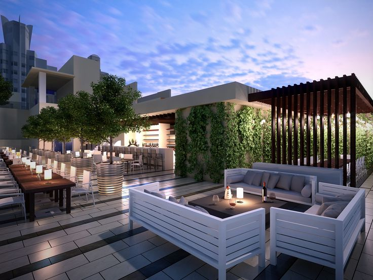 """This is now on our must see list; come visit ours soon too! """"Gale South Beach & Regent Hotel Rooftop Restaurant and Bar"""" #SoBe"""
