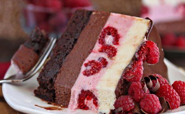 Муссовый торт: рецепт приготовления. Зеркальная глазурь ...