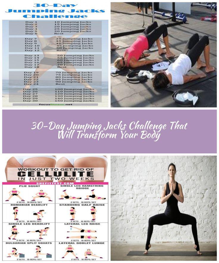 30 Day Jumping Jacks Challenge That Works! diet challenge ...