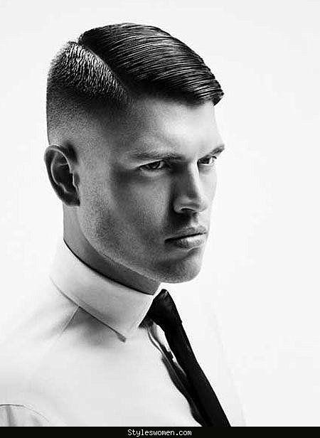 Men's hairstyles of the 1940s - http://styleswomen.com/mens-hairstyles-of-the-1940s.html