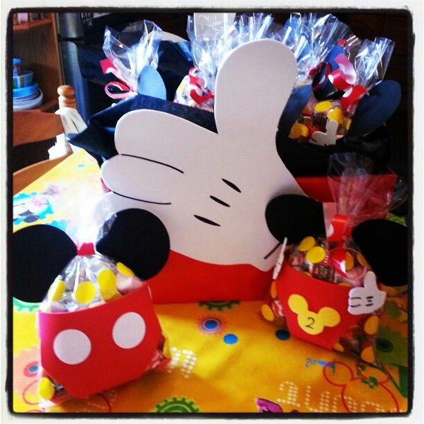 Bolsitas De Chuches Para Cumples Bolsitas Mickey Minnie Mouse