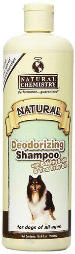 Natural Chemistry Deodorizing Shampoo Baking Soda Tee Tree Oil Pets 16.9 oz.