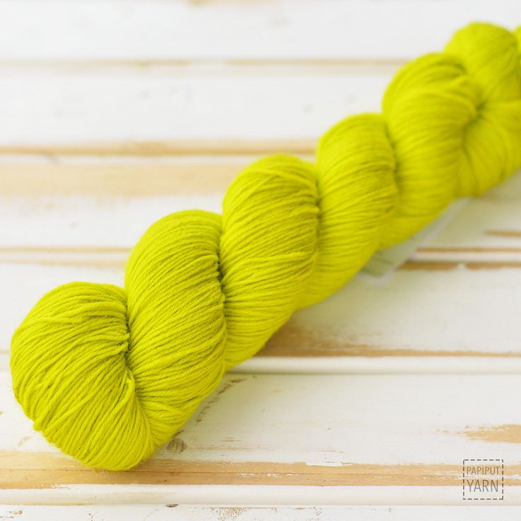 Neon!  A personal favorite from my Etsy shop https://www.etsy.com/listing/266503143/hand-dyed-sock-yarn-onde-mande