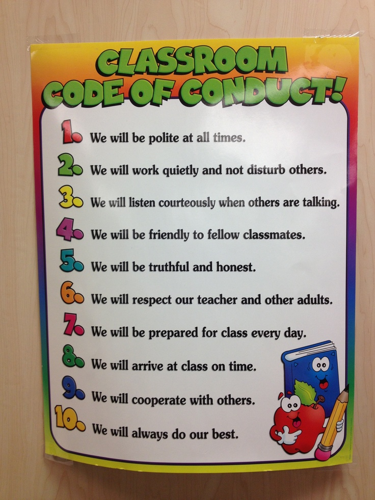 Code Of Conduct Good Jumping Off Point For The Scouts