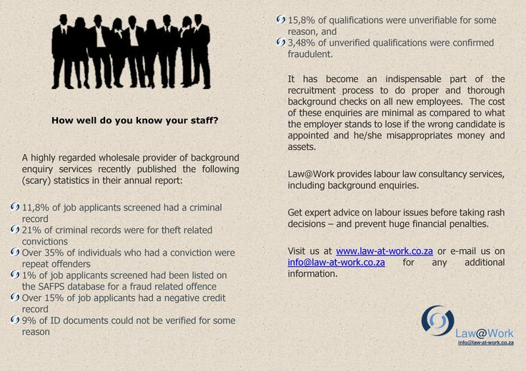 How well do you know your staff? https://www.facebook.com/lawatwork?fref=ts
