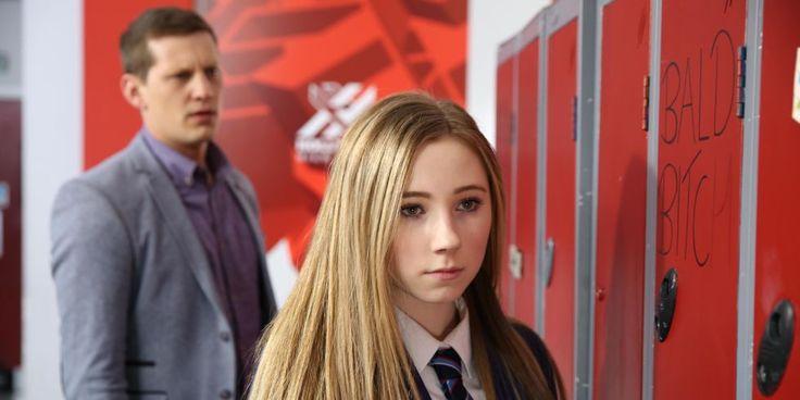 Hollyoaks: Sally pushes Myra down the stairs? Plus Peri gets revenge on Jade