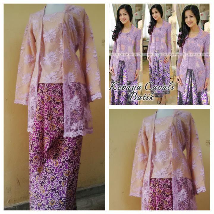 Long dress kebaya cavali