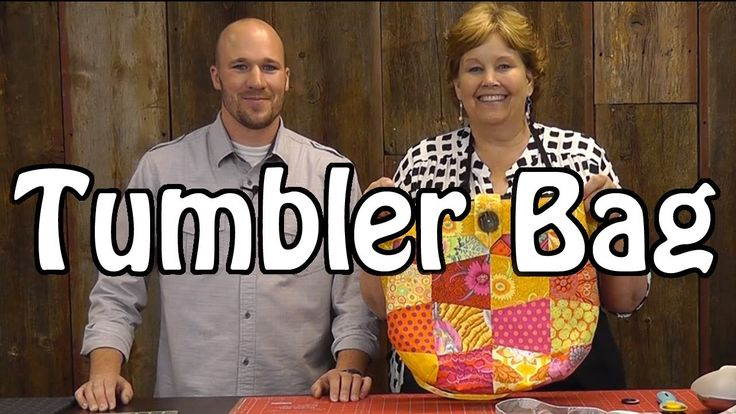 Tumbler Bag - Sew a Fun Purse with Charm Packs from Stephen and Jenny at Missouri Star Quilt Co.