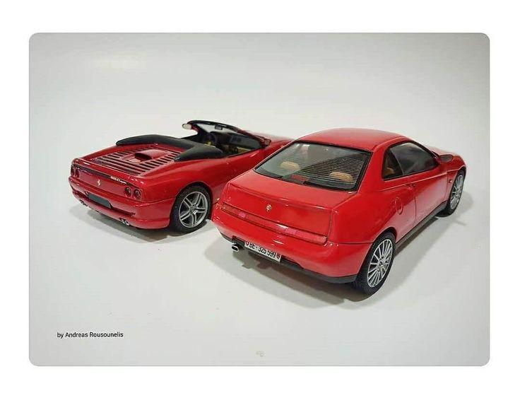 Ferrari F355 spider & Alfa Romeo gtv
