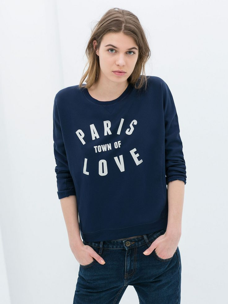 Le sweat à message
