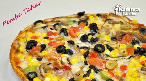 Vejeteryan Pizza Tarifi