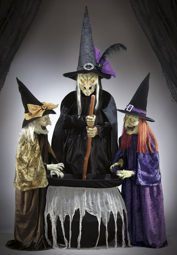 Come See What Our Animated Three Witch Sisters Are Brewing