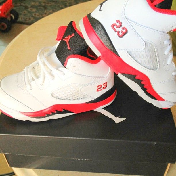 AJ has these & they'll get passed down to ...