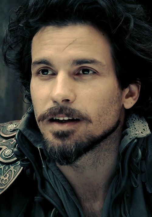 """Aramis from """"The Musketeers"""" portrayed by Santiago Cabrera"""