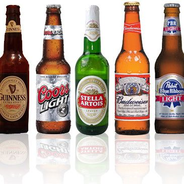 POPSUGAR This entry is all about beer's calorie count. Need this pinned, printed, and etched in my brain.