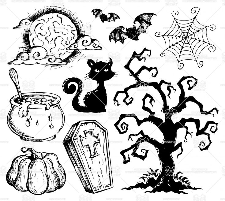 Halloween drawings window art halloween thanksgiving Haunted house drawing ideas