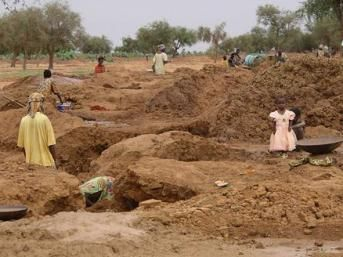 A gold mine in Mali.