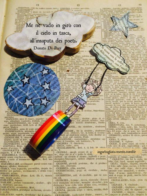 Me ne vado in giro con il cielo in tasca, all'insaputa dei poeti. Donato Di Poce.