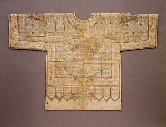 Talismanic Shirt - - - 15th - early-16th C Northern India