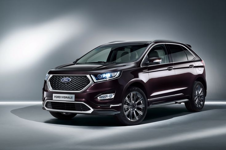 Ford Luxes Up Edge, Kuga, Mondeo & S-MAX With Vignale Makeover