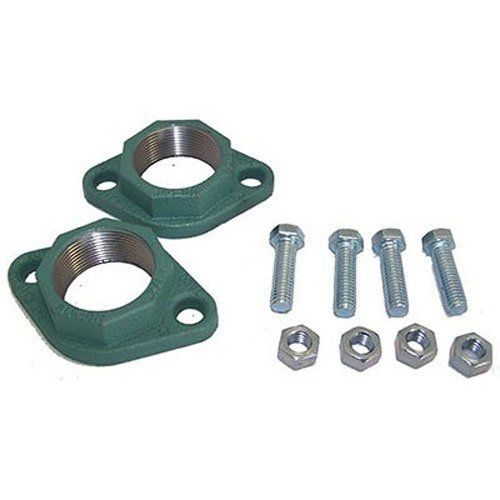 Taco T110-254F 1.5-Inch Flange Set Cast Iron  1.5-Inch NPT  Ductile Iron Freedom Flange Sets  Fits Taco models 005, 007-0011, 0013, 0014, 110-113  Easy-On, Easy-Off with a common adjustable wrench  Includes Pair of Flanges and Bolts