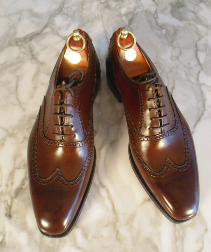 CROCKETT AND JONES . Article here on the 22 top shoe offerings in the world.