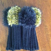 Manipulating knots......knitting & crocheting: Pattern for Knitted Golf Club Covers