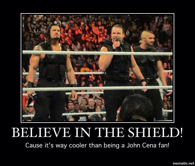 believe in the shield | WrestlingLOL - Number One Reason to Believe in The Shield