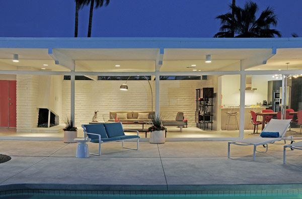 Mid century Palm Springs by Modernous.