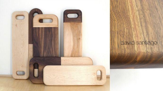 Tablas de cortar de madera maciza de David Santiago   ESSLOW BLOG                                                                                                                                                      Más