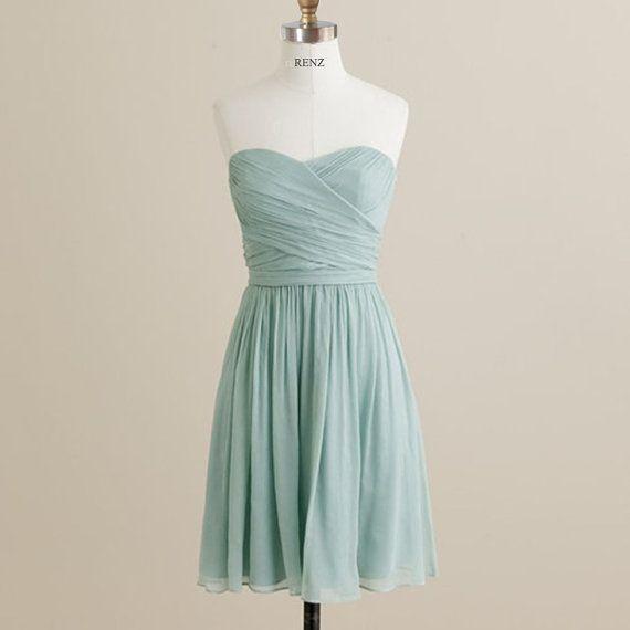 mint bridesmaid dress