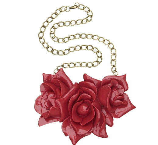 Bunch of Roses Necklace #sportsgirl