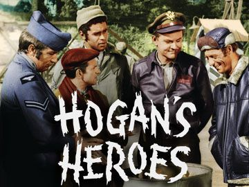 Hogan's Heroes - 1965-1971 - Bob Crane as Col. Robert Hogan  Robert Clary as Cpl. Louis LeBeau  Richard Dawson as Cpl. Peter Newkirk  Ivan Dixon as Sgt. James Kinchloe  Larry Hovis as Sgt. Andrew Carter  Kenneth Washington as Sgt. Richard Baker