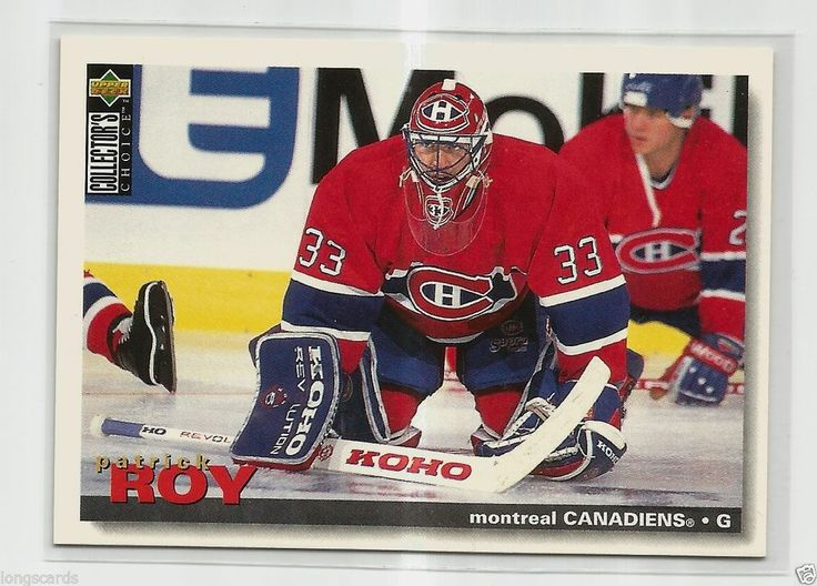 1995 UPPER DECK COLLECTOR'S CHOICE #95 PATRICK ROY