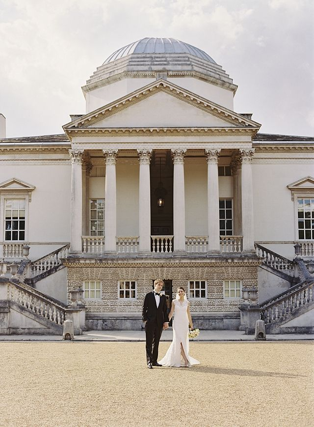 Elegant Chiswick House Wedding And Monique Lhuillier Bride