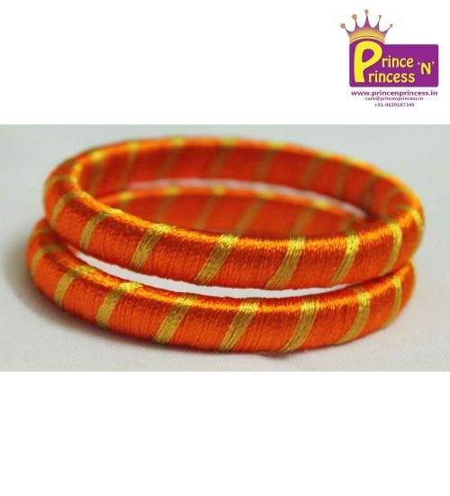 New born and kids Silk thread Bangles from prince n princess