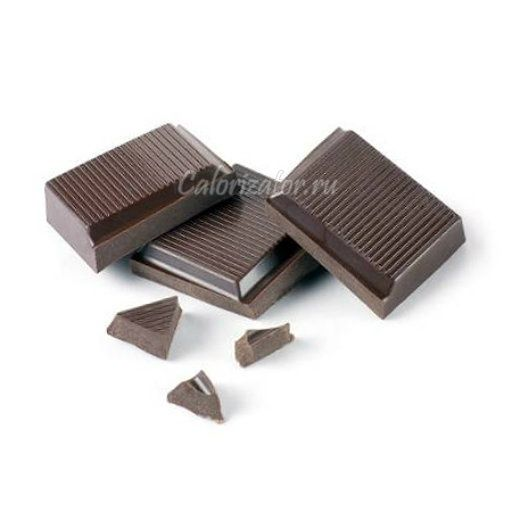 Горький шоколад, сладкий чай