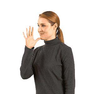 teaching baby sign language - animated