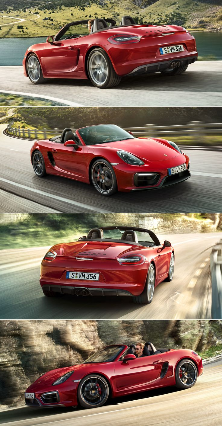 #Porsche #Boxster #GTS: It may have extra horsepower and more features, but it's still closer to what really matters: unadulterated driving pleasure, the endorphin rush in every corner and revolutionary adrenaline levels. So close to the origins of the sports car, with everything that it entails. The new Boxster  GTS.  Learn more: http://link.porsche.com/boxster-gts?pc=98134PINGA   Combined fuel consumption in accordance with EU 5 (Manual/PDK): 9.0/8.2 l/100 km, CO2 emissions 211/190 g/km.