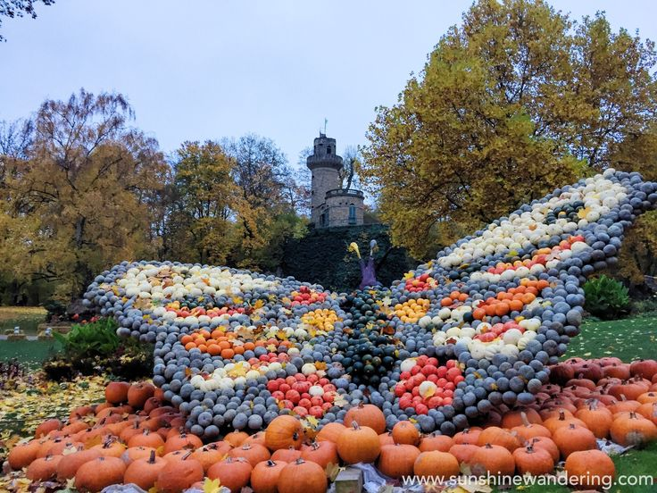 Pumpkin Festival at Schloss Ludwigsburg - an afternoon among the pumpkins at the foot of Residenzschloss Ludwigsburg