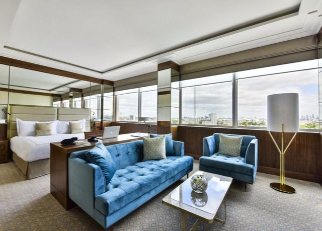 A stylish, newly refurbished five-star London hotel near Hyde Park, with one of Time Out London's Best Restaurants - includes breakfast, a dining discount and optional dinner