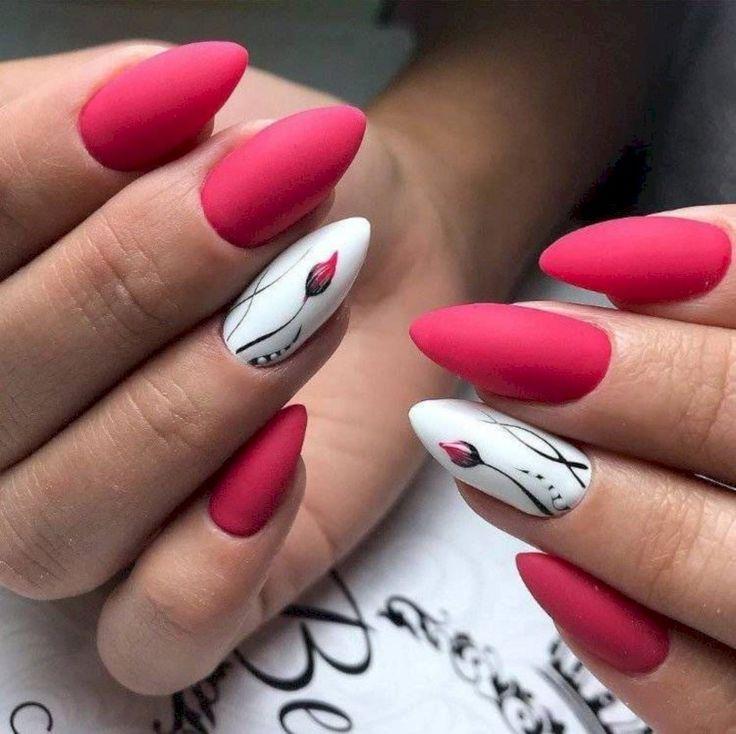 36 süße Frühling Farbe Nail Art Design-Ideen – ❖ NAILS